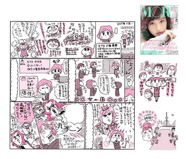 MORE(集英社)2015.3月号【あなたにいい人がいない本当の理由】