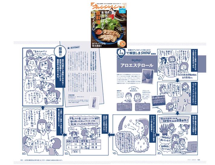 オレンジページ 2015.5/17売【1分で解説しまSHOW】
